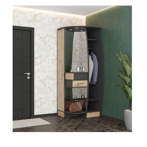 Интернет магазин мебели купить Прихожая Ева антрацит/аляска SV-775, мебель Світ Меблів