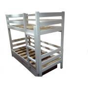 Кровать двухъярусная с тремя перемычками