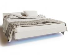 Модульная мебель Бьянко /Кровать 1,60 (без матраса и каркаса)