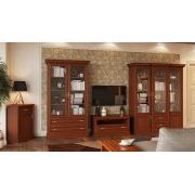 Модульная мебель Кантри (каштан)
