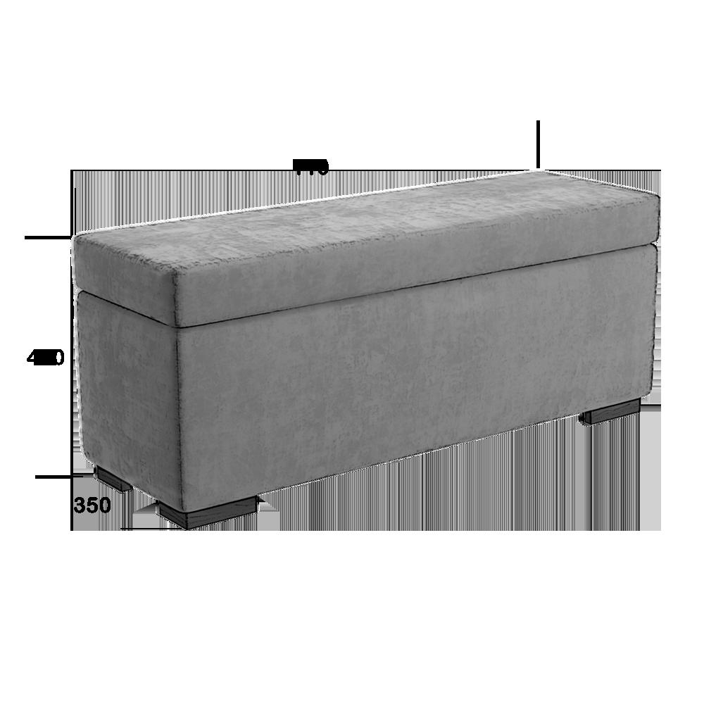 Купить Банкетка Ostin WS-2019 магазин мебели Світ Меблів Киев 6e6bd7ee51f