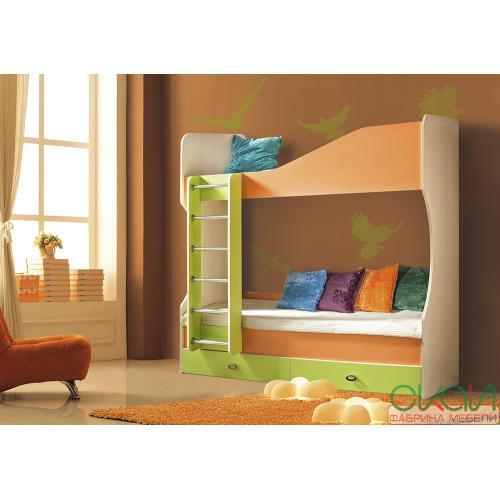 Кровати двухярусные Детская Моби-1 738-С мебель Киев