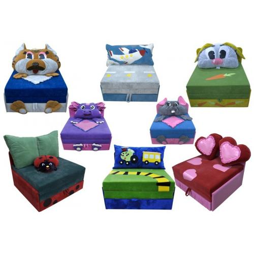 Детские диваны Детский диван Омега (Лунтик) 020-R мебель Киев