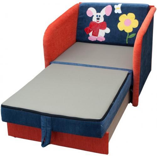Детские диваны Детский диван Малыш (Зайка) 017-R мебель Киев
