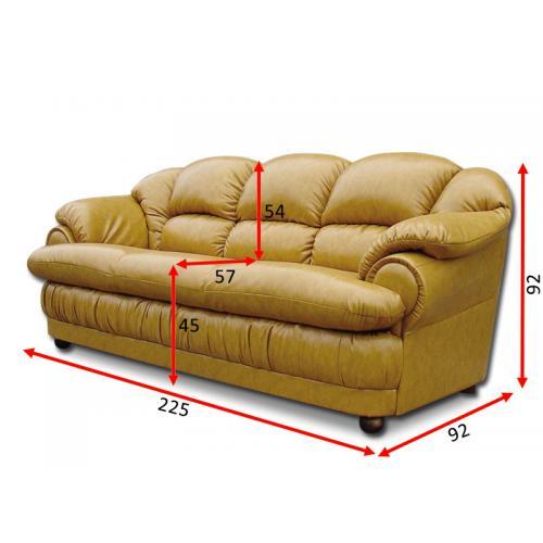 Прямые диваны Диван Барон 3Н V-017 мебель Киев