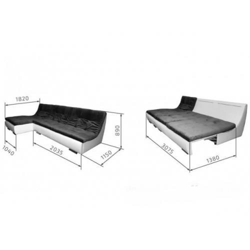 Угловые диваны Угловой диван Нью-Йорк DF-131 мебель Киев