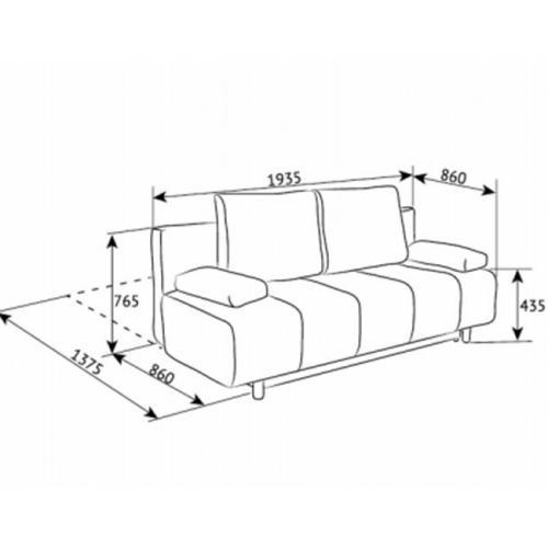 Интернет магазин мебели купить Диван Ибица DF-033, мебель Divanoff