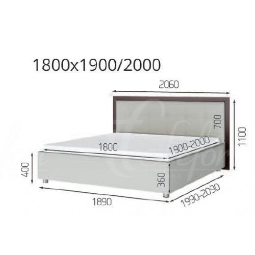 Мягкие кровати Кровать Мишель (1.60) LF-754 мебель Киев