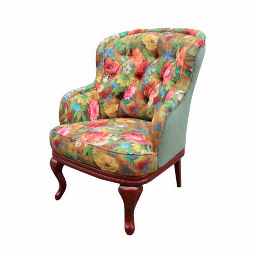 """Мягкие кресла Классическое мягкое кресло""""Соло"""" 027-VI мебель Киев"""
