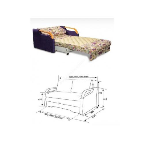 Акционные предложения Диван Удача (1,40) DF-3000 мебель Киев
