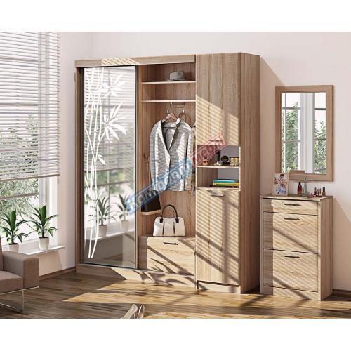 Прихожие серии «СОФТ» Прихожая ВТ-3920 КМ-2079 мебель Киев