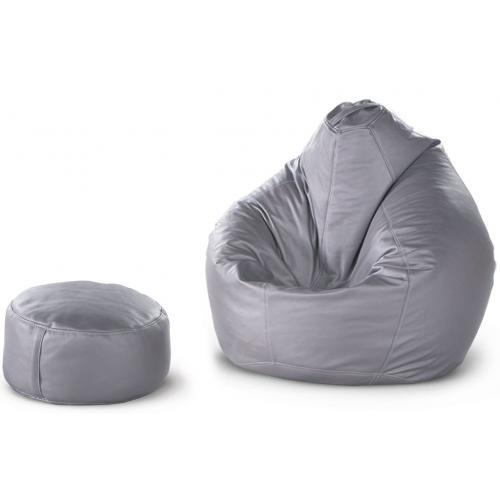 Бескаркасная мебель Кресло-груша Фет Бой+пуф цилиндр 367-ML мебель Киев