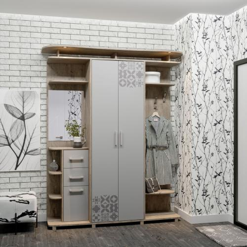Прихожие «Світ меблів» Прихожая Силуэт 3 SV-783 мебель Киев
