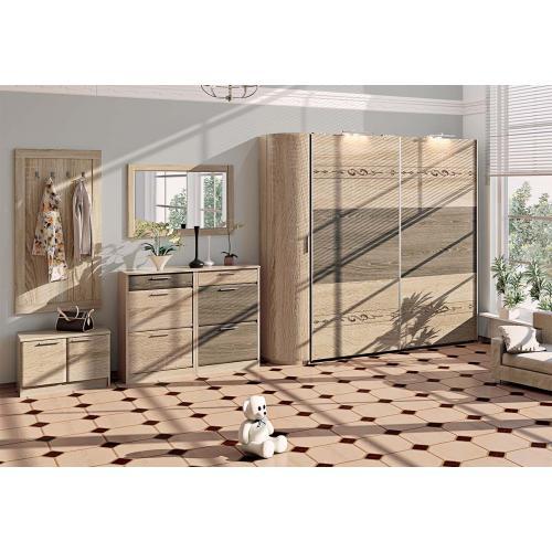 Прихожие серии «ЕВРОПЕЙСКАЯ» Прихожая ВТ-3901 КМ-2060 мебель Киев