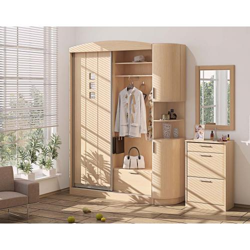 Прихожие серии «ХАЙ-ТЕК» Прихожая ВТ-3980 КМ-2138 мебель Киев