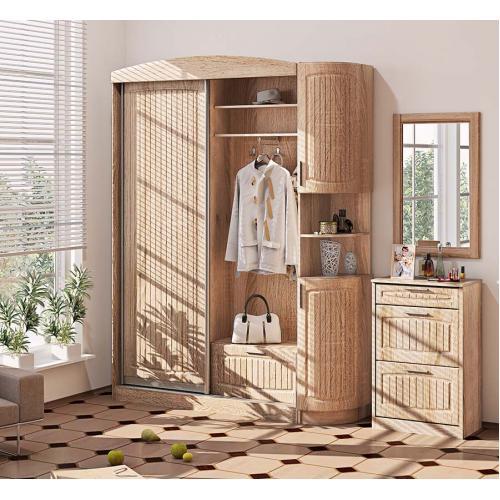 Прихожие серии «СОПРАНО» Прихожая ВТ-3986 КМ-2144 мебель Киев