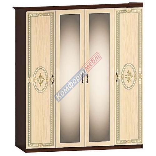 Шкафы распашные Шкаф распашной Ф-652 Леванте КМ-2274 мебель Киев