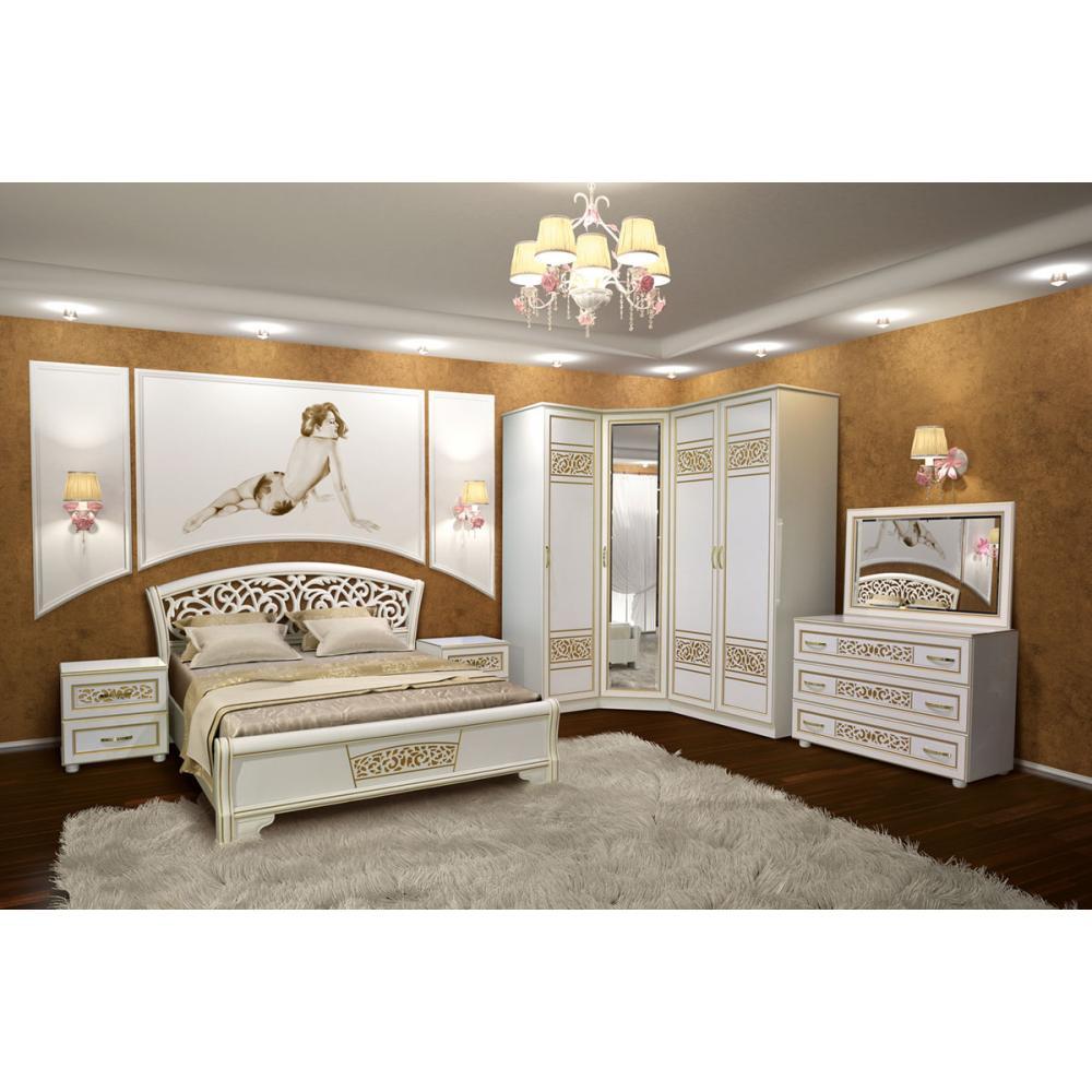 купить спальня полина новая Sv 810 магазин мебели світ меблів киев