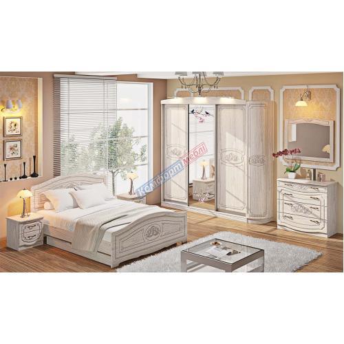 Спальни «Классика» Спальня СП-4555 cерия Классика КМ-2248 мебель Киев