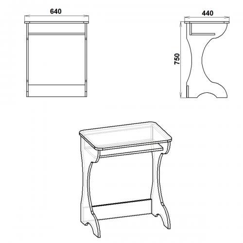 Письменные столы Юниор 395-К мебель Киев