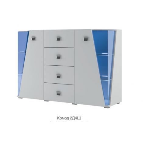 Интернет магазин мебели купить Призма/Комод 2Д 4Ш SV-7011, мебель Світ Меблів