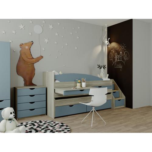 Интернет магазин мебели купить Детская модульная Савана SV-729, мебель Світ Меблів